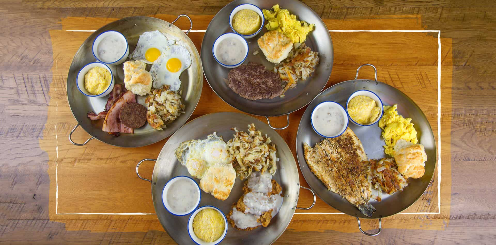 Breakfast Skillets at Five Oaks Farm Kitchen